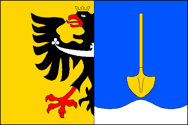 Písek - vlajka