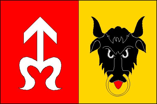 Plumlov - vlajka
