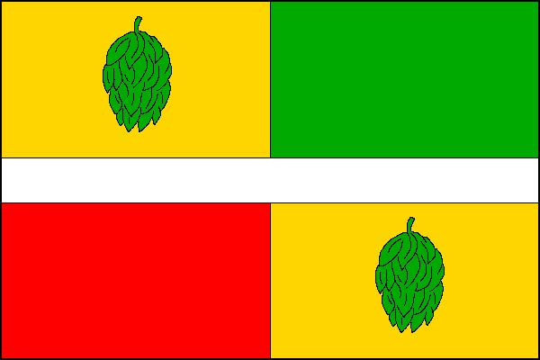 Pochvalov - vlajka