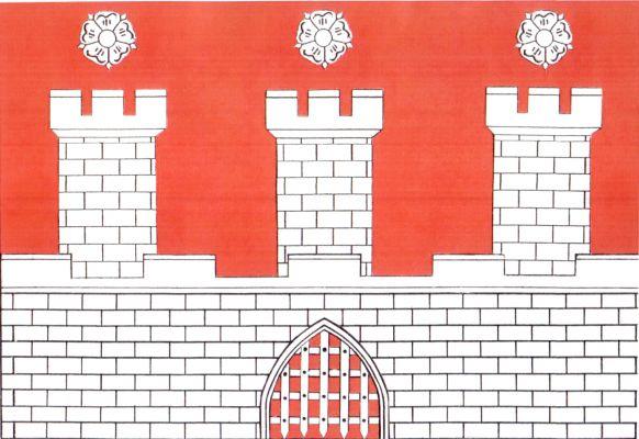Pohořelice - vlajka