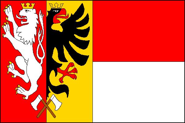 Polička - vlajka