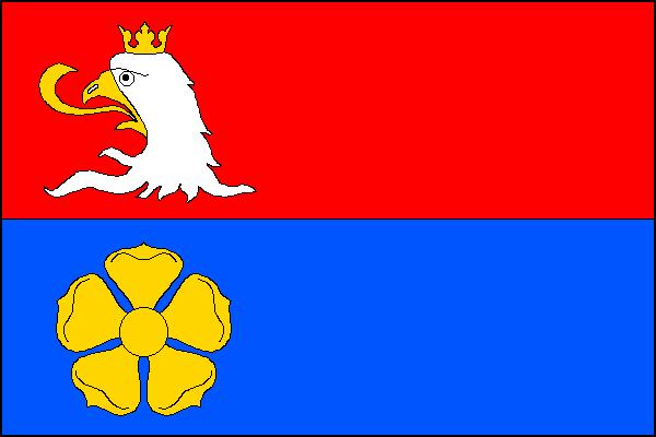 Polště - vlajka