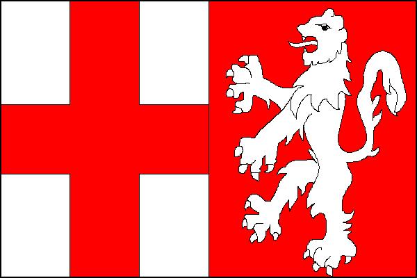 Pomezí - vlajka