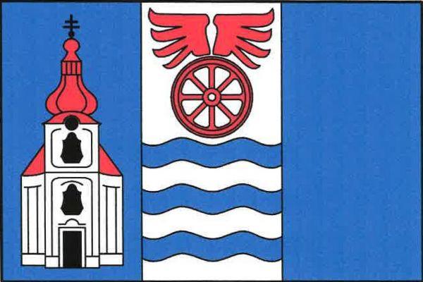Poříčany - vlajka