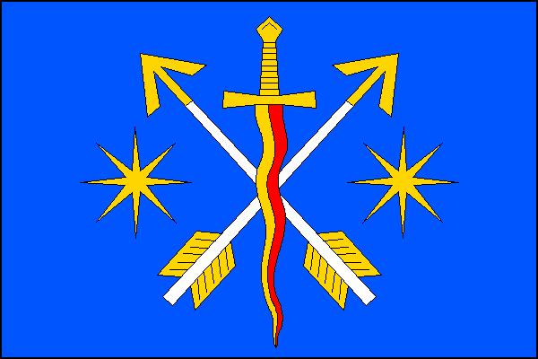 Postřelmůvek - vlajka
