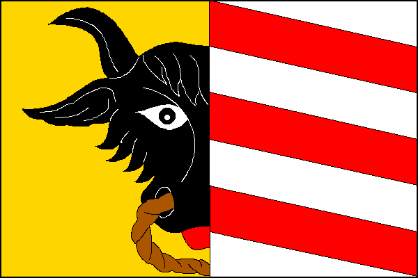 Potštejn - vlajka