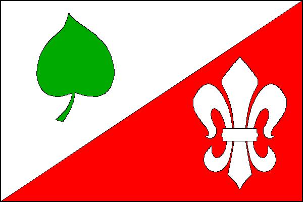 Pozořice - vlajka