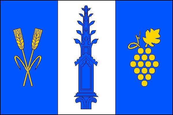 Práče - vlajka