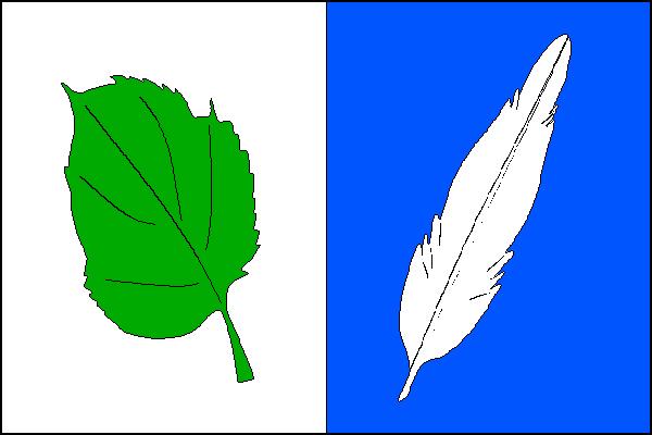 Praha-Libuš - vlajka