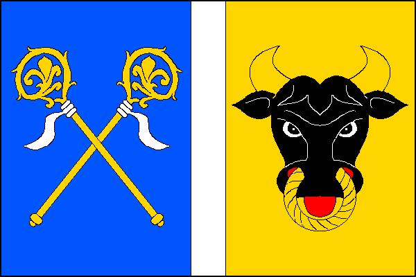 Přelovice - vlajka