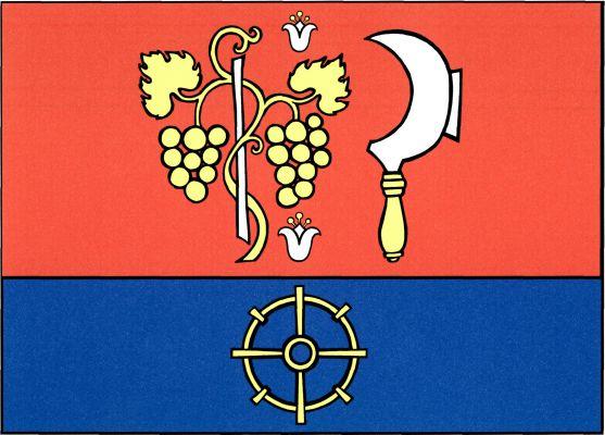 Přítluky - vlajka