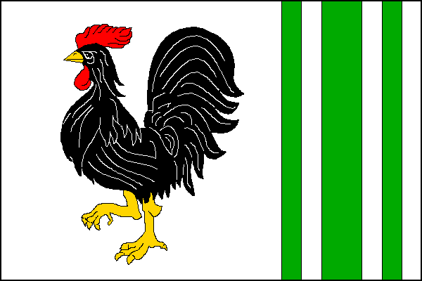 Proseč - vlajka
