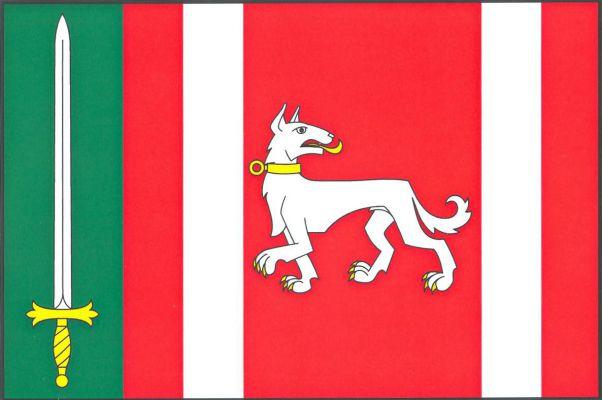 Psáry - vlajka