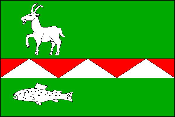 Pstruží - vlajka