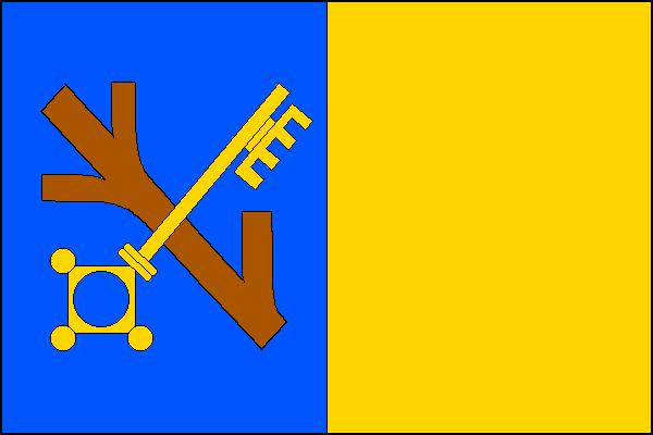 Rajhrad - vlajka