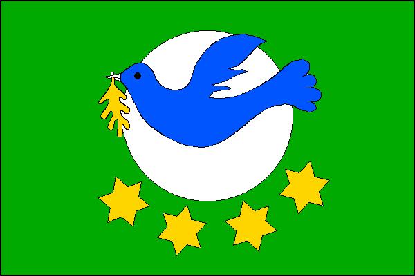 Rajhradice - vlajka