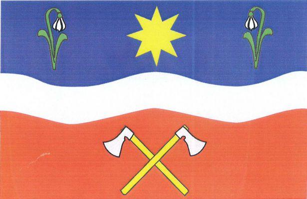 Rajnochovice - vlajka