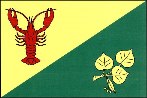 Rakovice - vlajka