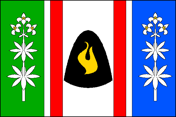Řetová - vlajka