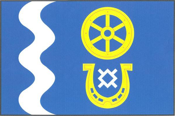 Říčky - vlajka