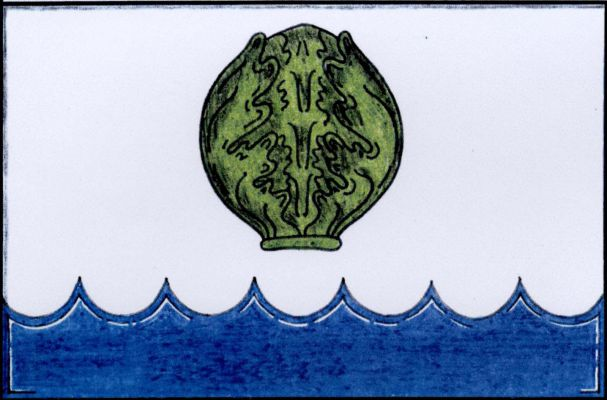 Roudné - vlajka