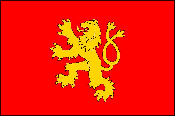 Rousínov - vlajka