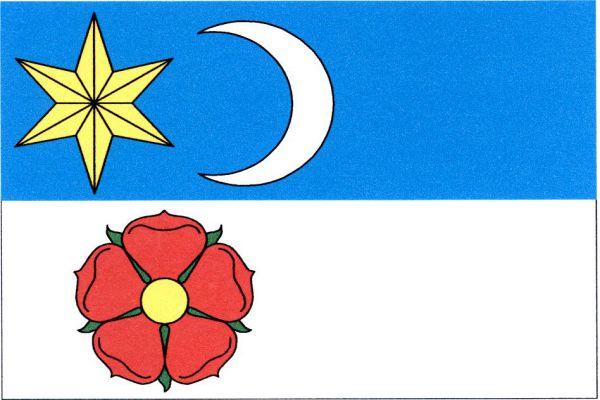 Rožmitál na Šumavě - vlajka