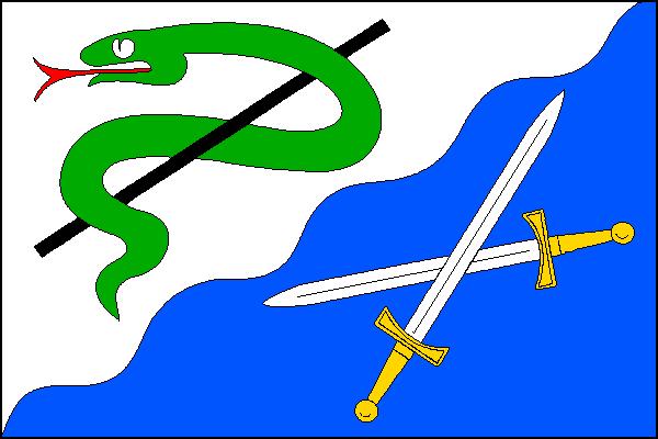 Roztoky u Jilemnice - vlajka