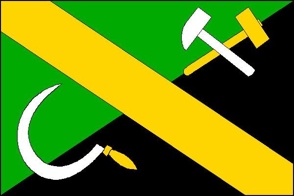 Rudná - vlajka