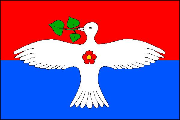 Růžďka - vlajka