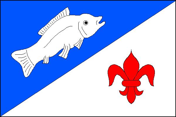 Rybí - vlajka