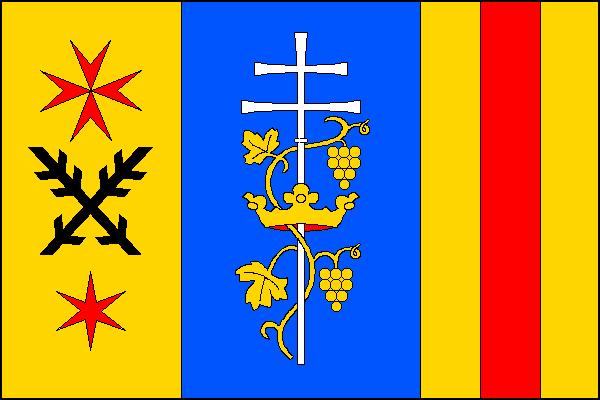Rybníky - vlajka