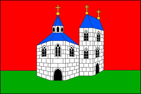 Sadská - vlajka