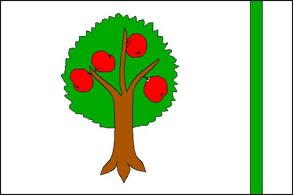 Šenov u Nového Jičína - vlajka