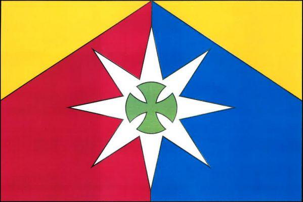 Sirákov - vlajka