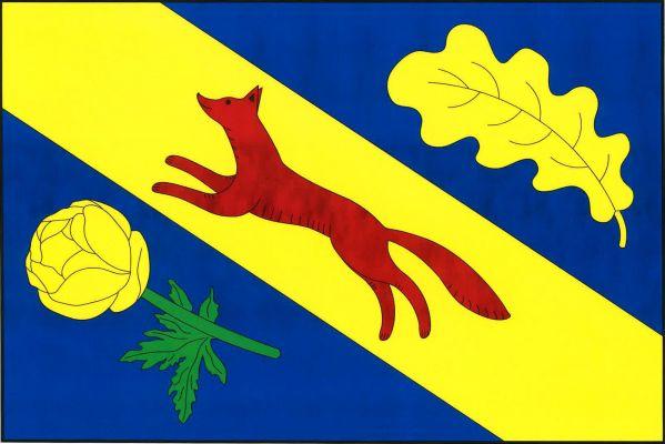 Skomelno - vlajka