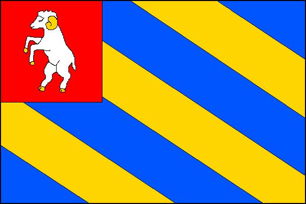 Skořice - vlajka
