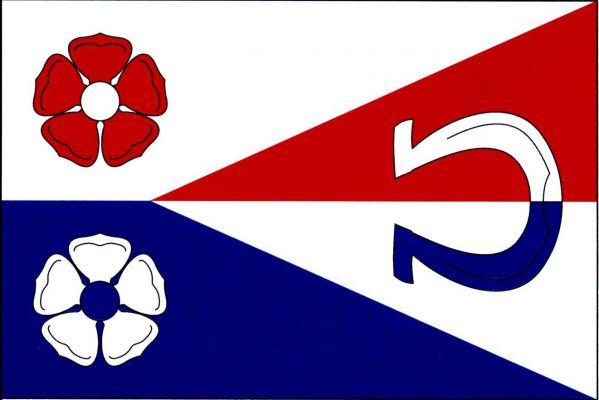 Slapy - vlajka