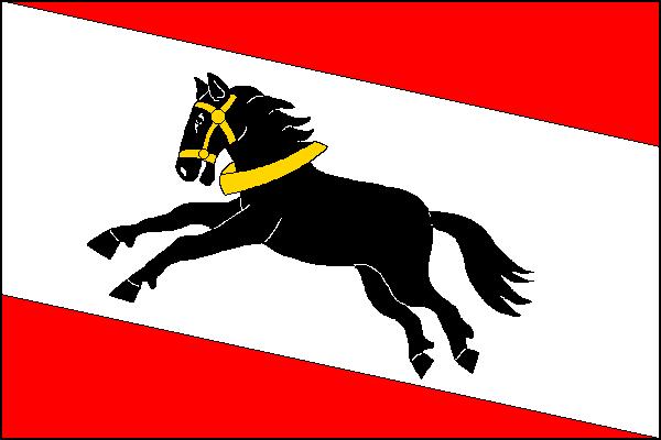 Slatiňany - vlajka