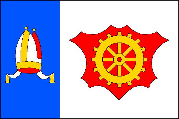 Slavičín - vlajka