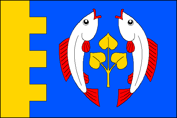 Slavíkov - vlajka
