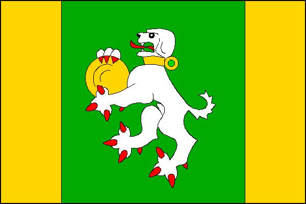 Slopné - vlajka