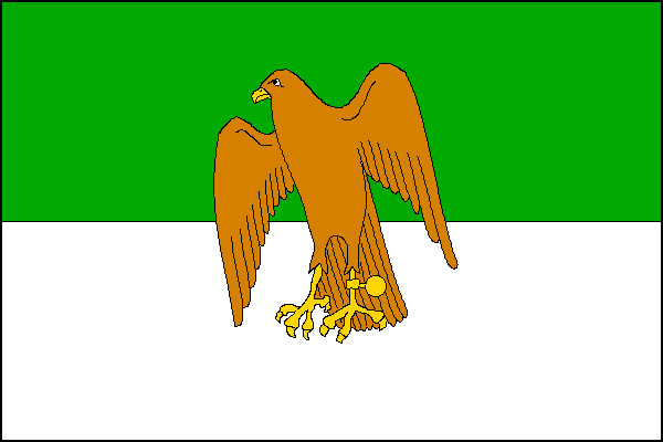 Sokolov - vlajka