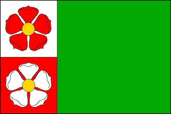 Staré Křečany - vlajka