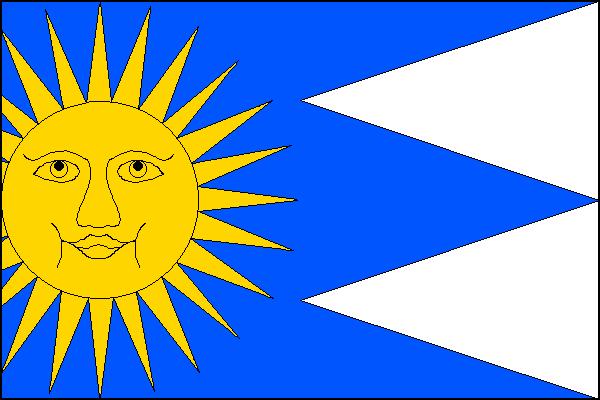Štěchovice - vlajka