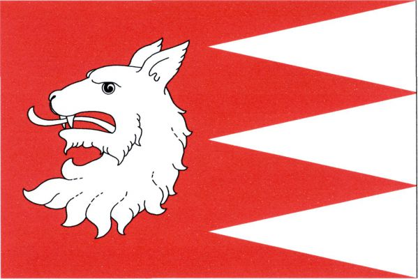 Štěkeň - vlajka