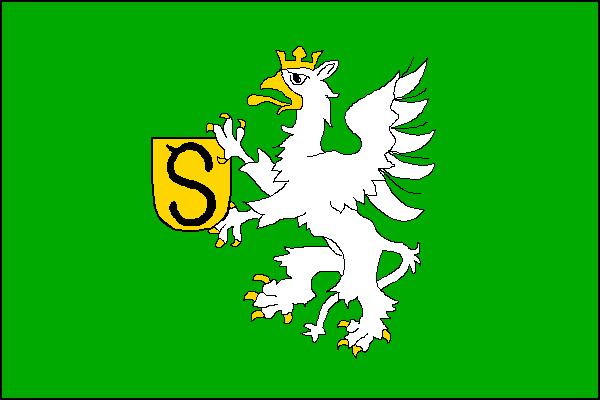 Stonava - vlajka