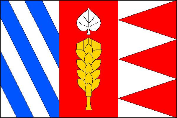 Stratov - vlajka