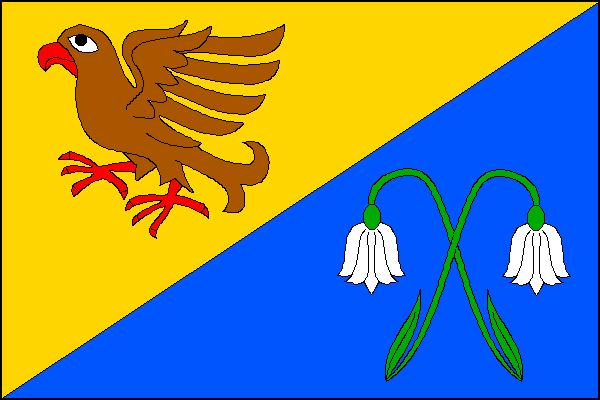 Strážná - vlajka