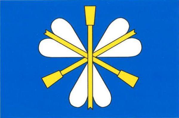 Středokluky - vlajka